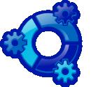 Kubuntu sin logo