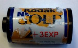 Kodak Gold i engangskamera...